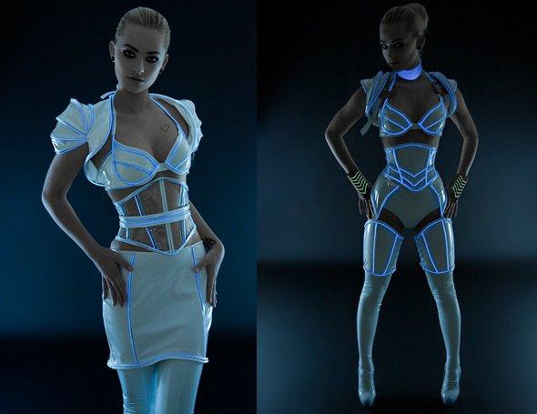 Sexy TRON Dress