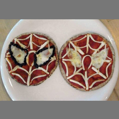 Spider-Man Pizzas