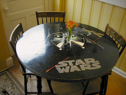 Star Wars Darth Vader Table