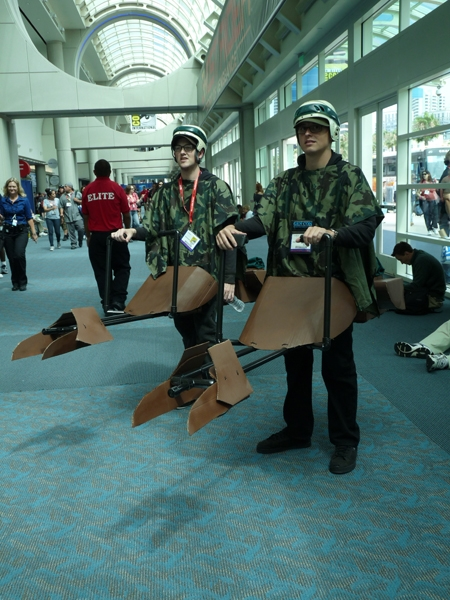 Star Wars Speeder Bike Cosplay