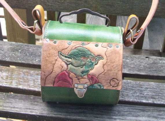 Star Wars Yoda Leather Purse