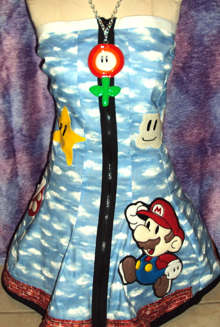 Super Mario Bros Dress