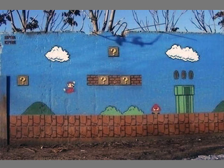 Super Mario Bros Street Art