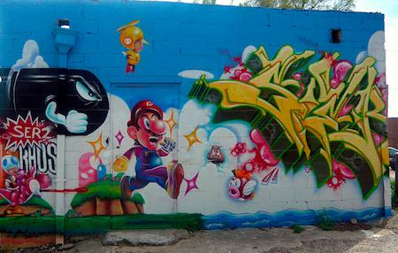 Super Mario Street Art