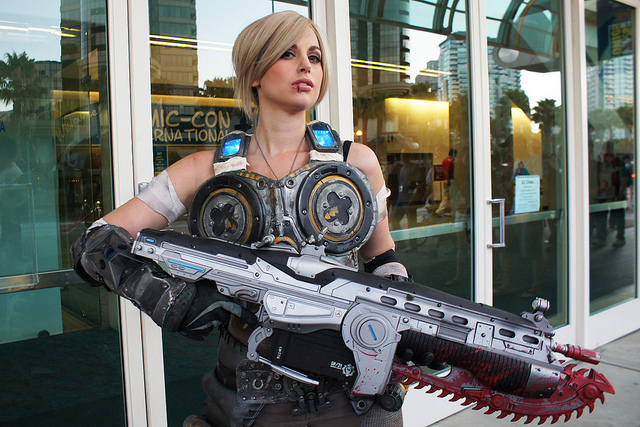 Anya Stroud Gears of War Cosplay
