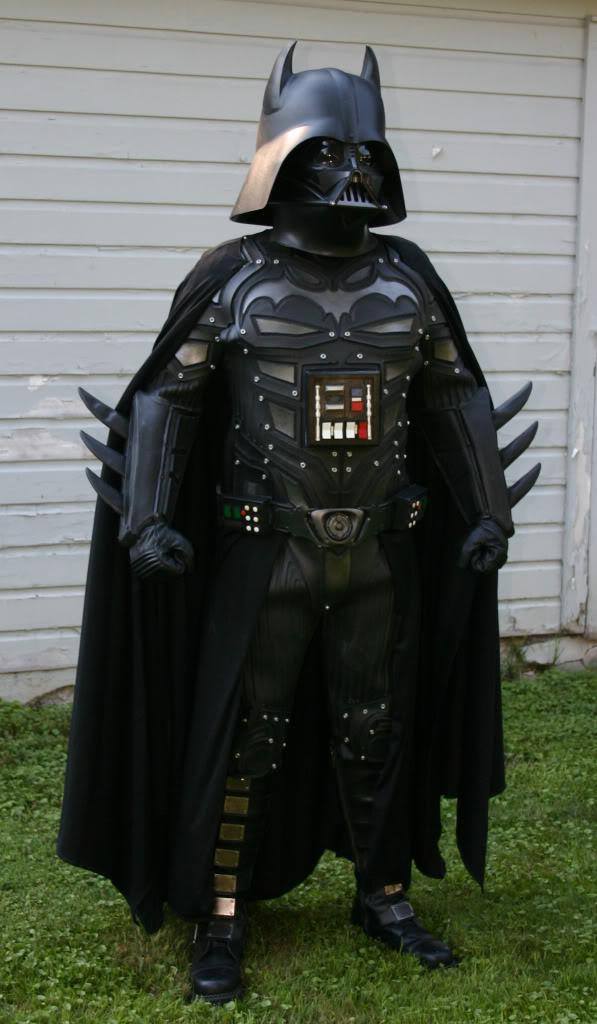 Darth Vader Batman Mash-up Cosplay