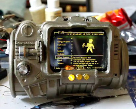 Fan Made Fallout Pip-Boy 3000