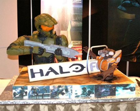 Halo Master Chief Cake pics Global Geek News