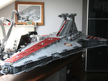 LEGO Venator Class Star Wars Star Destroyer