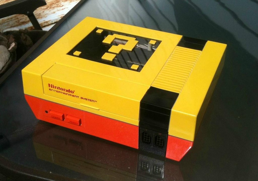 NES Console Mod Super Mario Bros Style