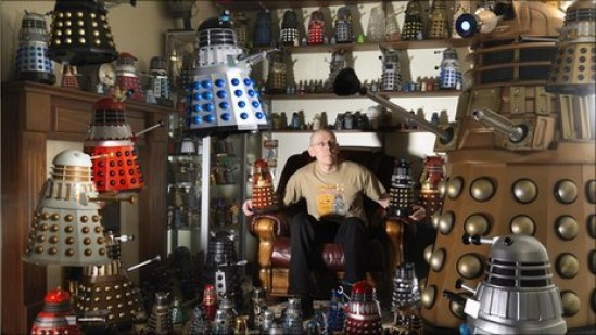 Rob Hull and His Dalek Collection