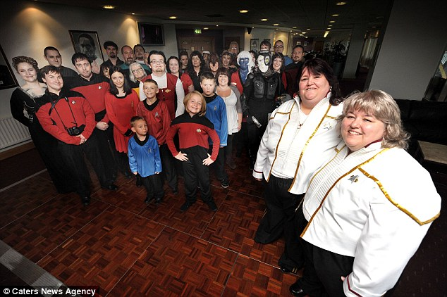 Star Trek Themed Wedding