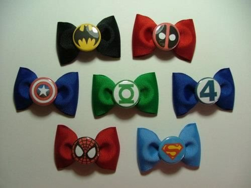 Superhero Bow Ties