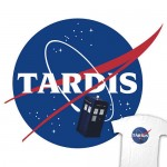 TARDIS NASA T-Shirt