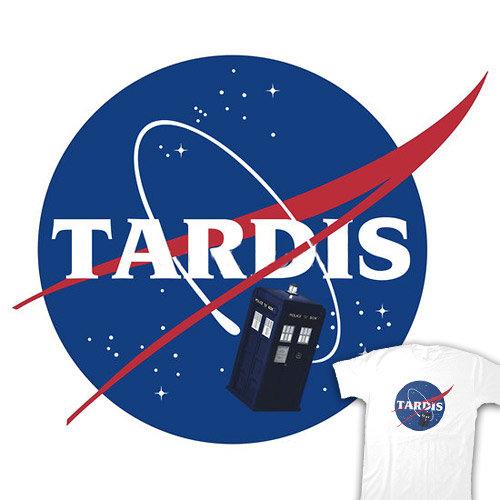 TARDIS NASA T-Shirt