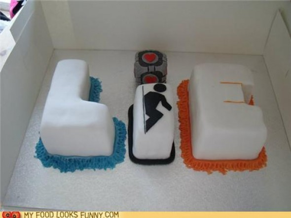 This Portal Cake is a Lie