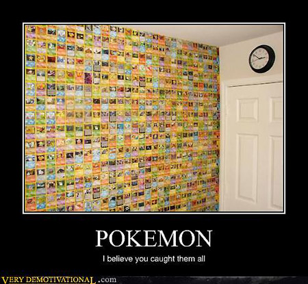 Wall of Pokemon Cards