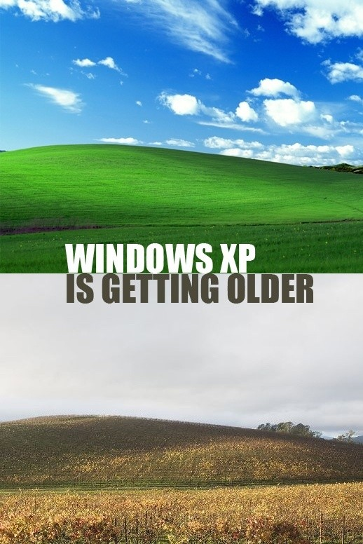 Windows XP is Old