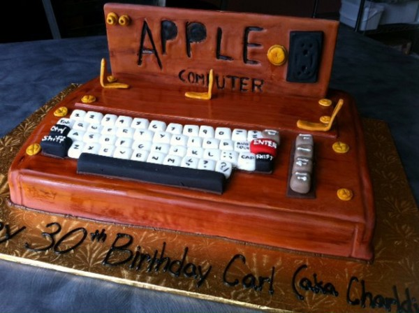 Apple 1 Computer Birthday Cake