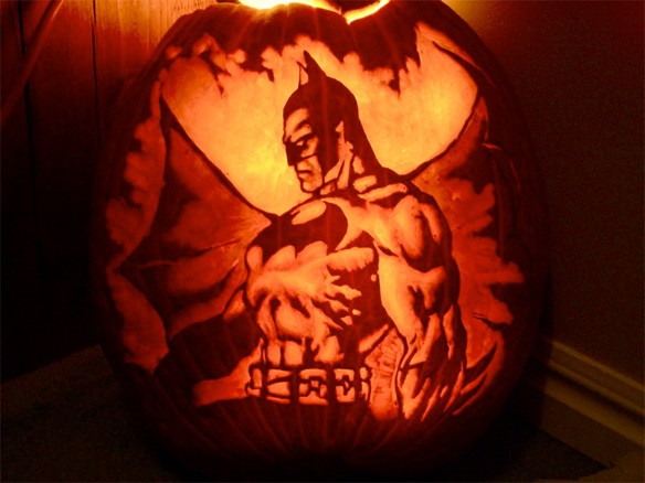 Batman Halloween Pumpkin