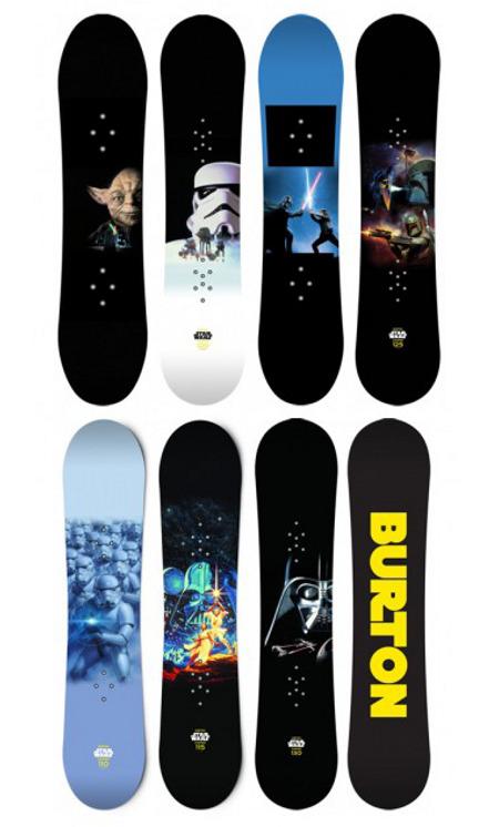 Burton Star Wars Chopper Snowboards