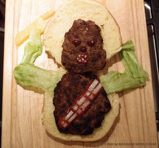 Chewbacca Hamburger