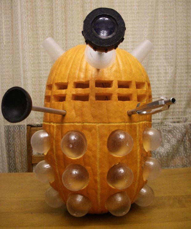 Doctor Who Dalek Punkin Carving