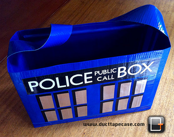 Duct Tape Doctor Who TARDIS Bag