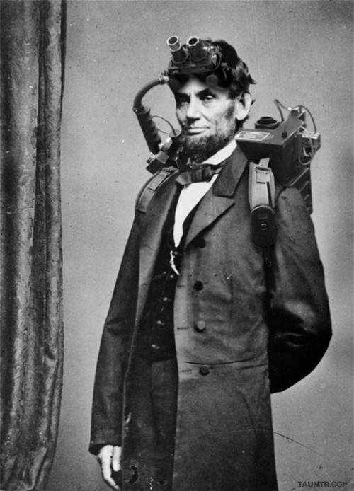 Ghostbuster Abraham Lincoln