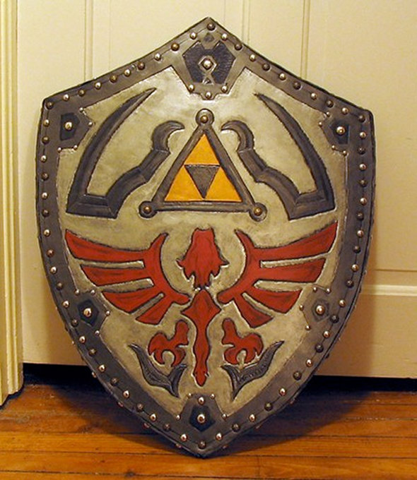 Legend of Zelda Majoras Mask Hylian Shield