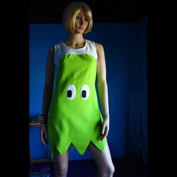 Pac-Man Ghost Dress