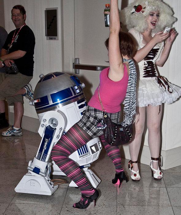 R2-D2 Gone Wild