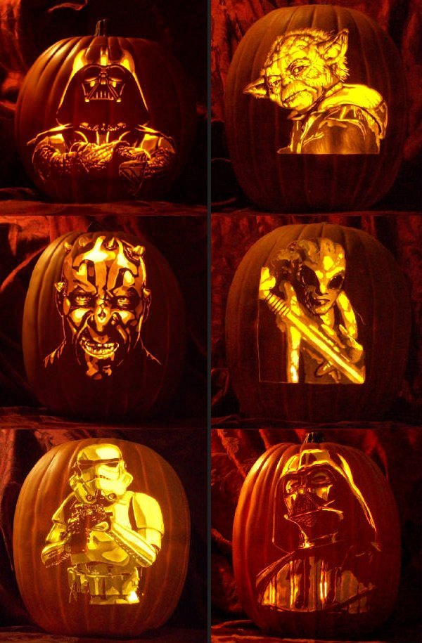 Six Amazing Star Wars Jack-O-Lanterns