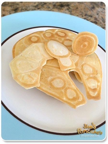 Star Wars Millennium Falcon Pancake