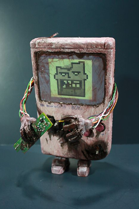 The Zombie Nintendo Game Boy