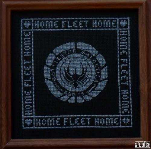 Battlestar Galactica Cross Stitch