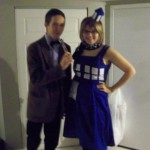 Doctor and TARDIS Halloween Costumes [pic]