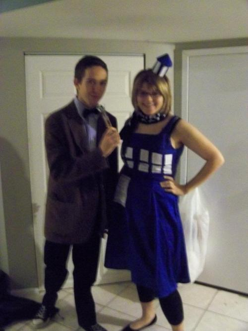 Doctor and TARDIS Doctor Who Halloween Costumes