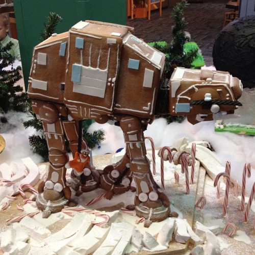 Gingerbread Star Wars AT-AT