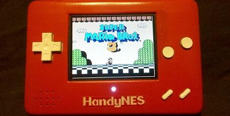 HandyNES Portable NES Console Mod