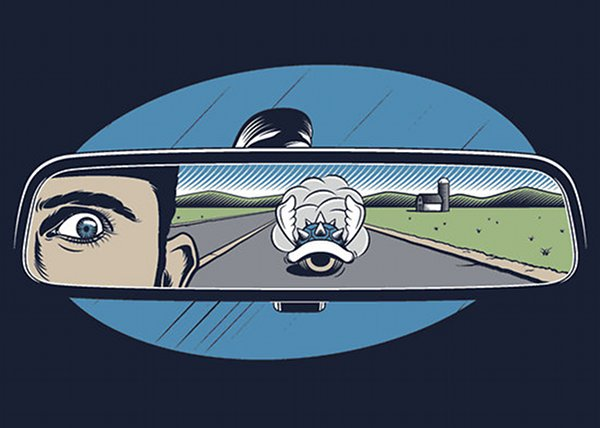 Incoming Blue Spiny Shell Mario Kart T-Shirt Design