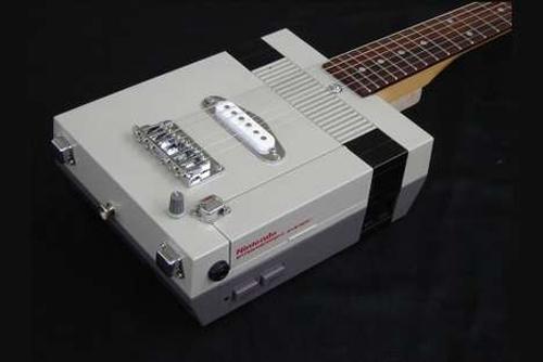 Nintendo NES Custom Guitar