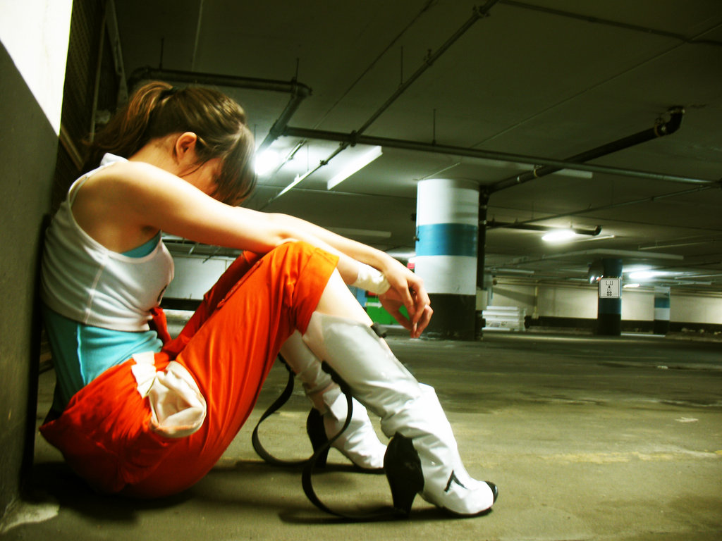 Portal 2 Chell Cosplay