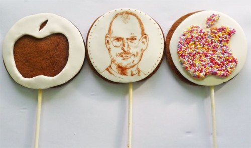 Steve Jobs and Apple Cake Pops