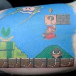 Awesome Super Mario Bros Tattoo [pic]