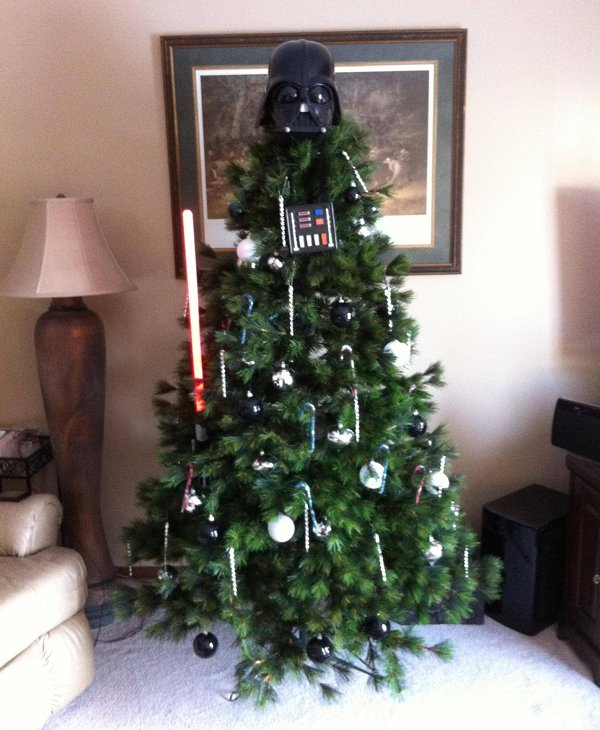 Darth Conifer - The Darth Vader Christmas Tree
