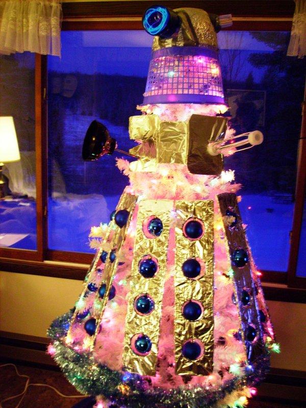 Doctor Who Dalek Christmas Tree