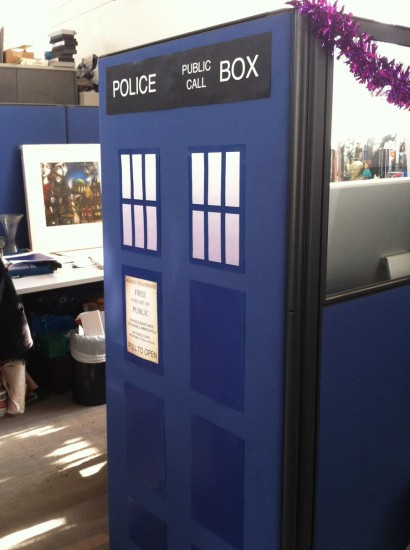 Doctor Who TARDIS Cubicle