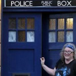 Doctor Who TARDIS House Front Door