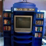 Doctor Who TARDIS TV Cabinet